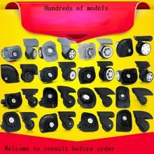 Guguluza 1 пара замена камера чемодан колеса 360 Поворотный МНЛЗ Универсальный колеса для большинства сумки
