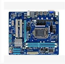 GA-H55M-S2 d'origine carte mère DDR3 LGA 1156 H55M-S2 tout-solide soutien I3 I5 I7 8G De Bureau carte mère