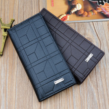 New Mens Wallet Long Casual Fashion Trend Multi-card High Quality Business