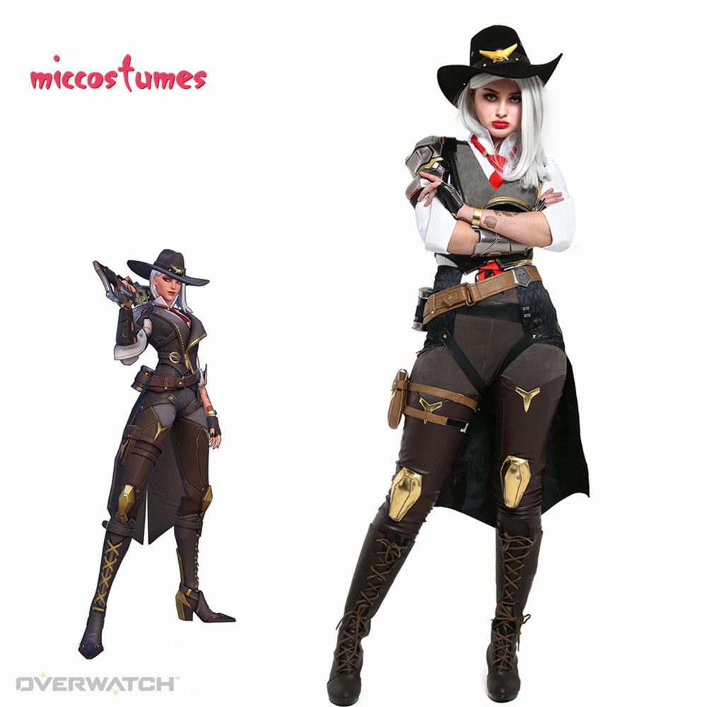 Ashe The Viper Cosplay Costume Fullset Woman Halloween Uniform Outfit