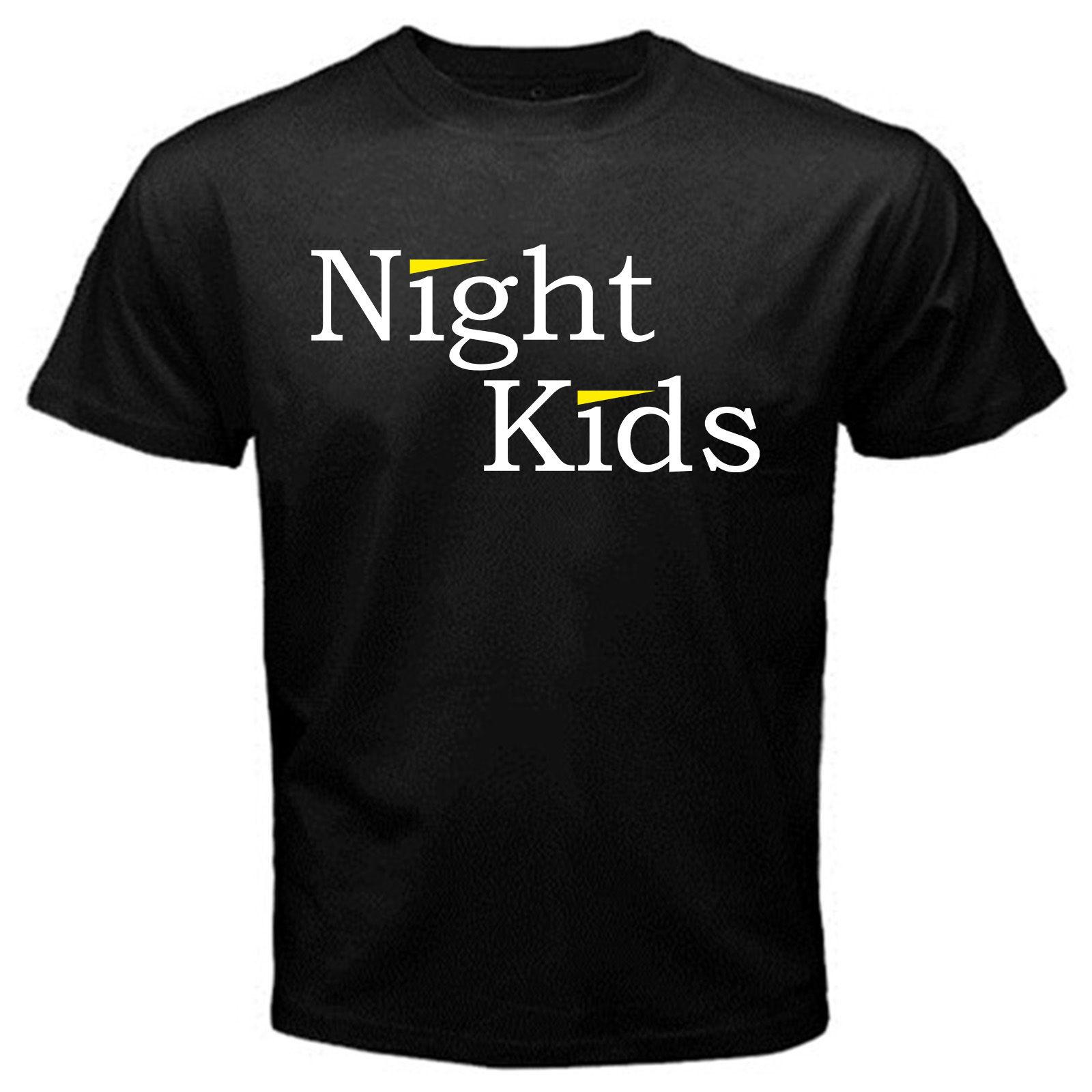 Night Kids initial D anime manga japan tofu myogi shop T-Shirt Black Hot New 2018 Summer Fashion T Shirts Loose top tee