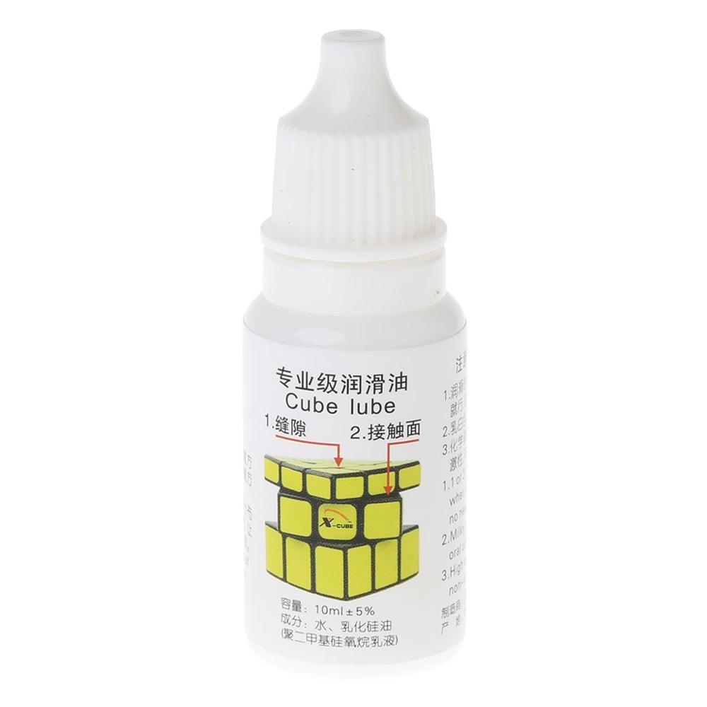 Best Silicone Lubricants Cube Lubricating Oil 10ML Cubo Magic Maru Cube Oil