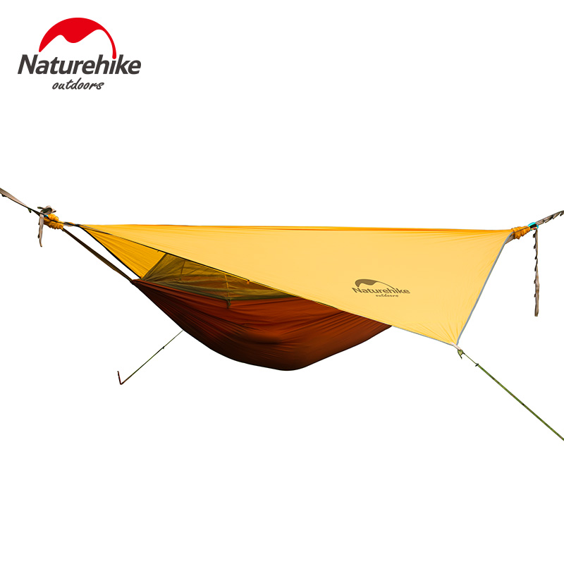 Naturehike one person hammock with bed net ultralight for Best mattress for lightweight person
