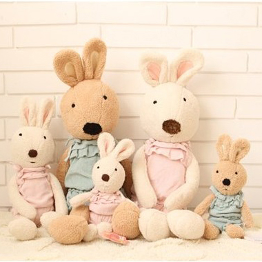Free Shipping 30/45/60/90cm Kawaii Le Sucre Rabbit Plush Doll Stuffed Toy For Children