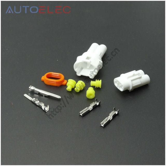 6180 2321 6187 2311 2Pin/4 wege draht anschluss 2,0mm auto stecker ...