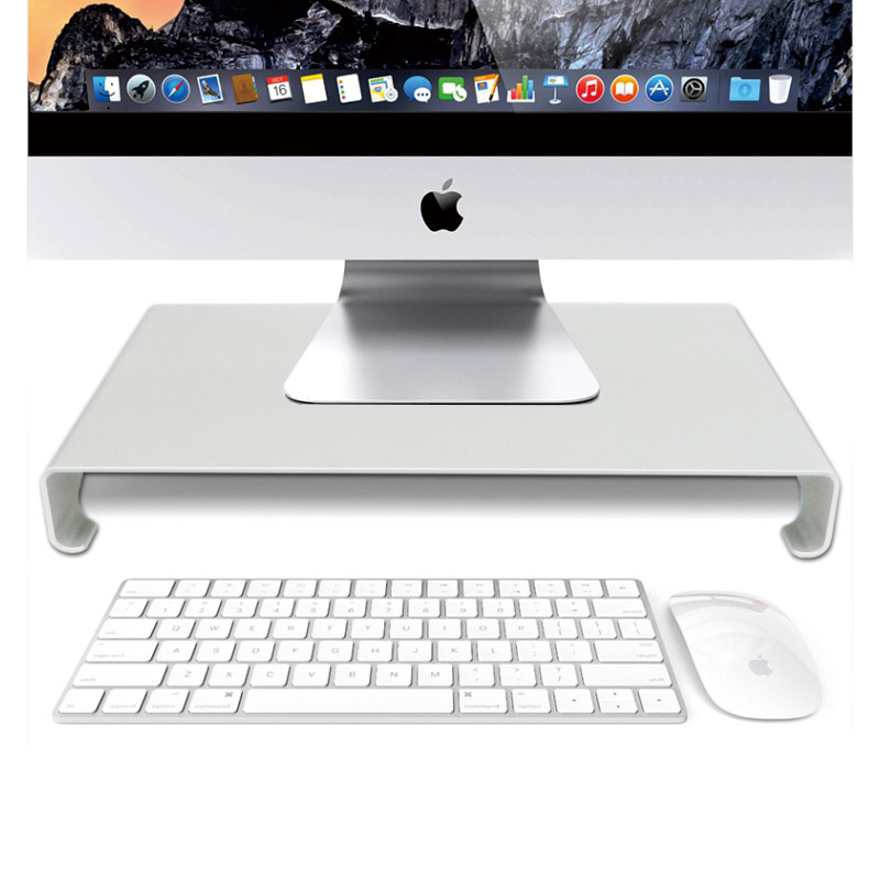 Aluminum Laptop Stand Desk Dock Holder Bracket for Apple iMac/Tablet/ MacBook Pro/PC/Notebook Base Portable Computer Stand джинсы rip curl джинсы a frame pant