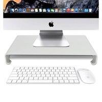 Aluminum Laptop Stand Desk Dock Holder Bracket for Apple iMac/Tablet/ MacBook Pro/PC/Notebook Base Portable Computer Stand