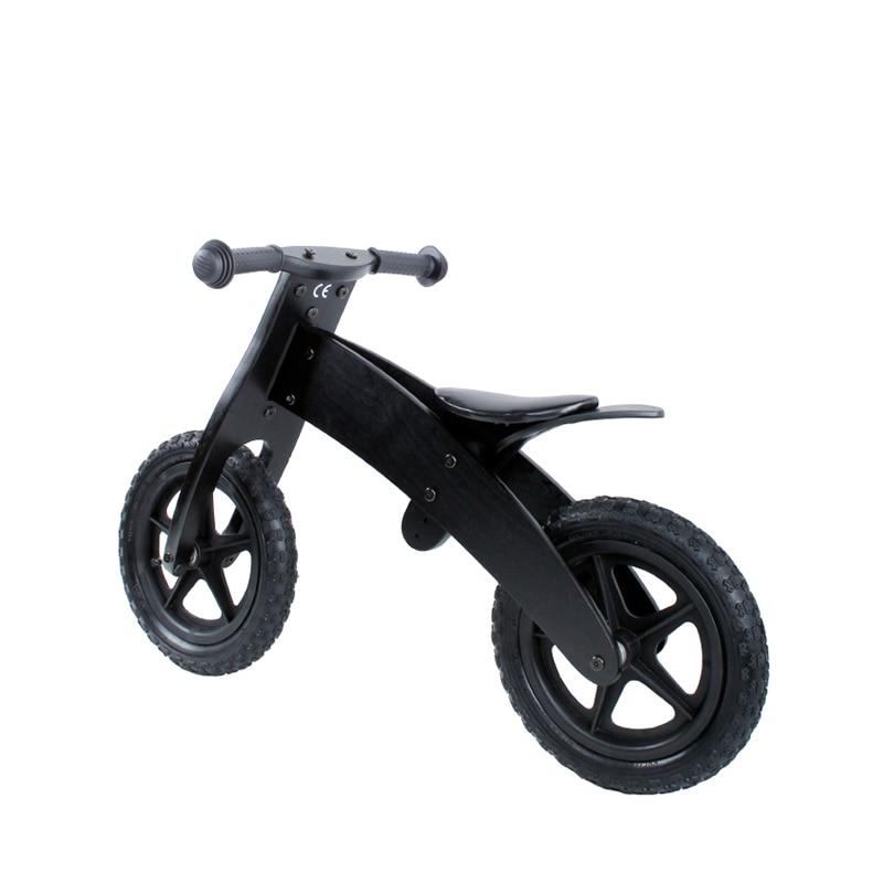 Us 1850 Kids Balance Bike Children Wooden Bikes Wooden Toys Stroller Toddler With Plastic Wheels ב Kids Balance Bike Children Wooden Bikes Wooden
