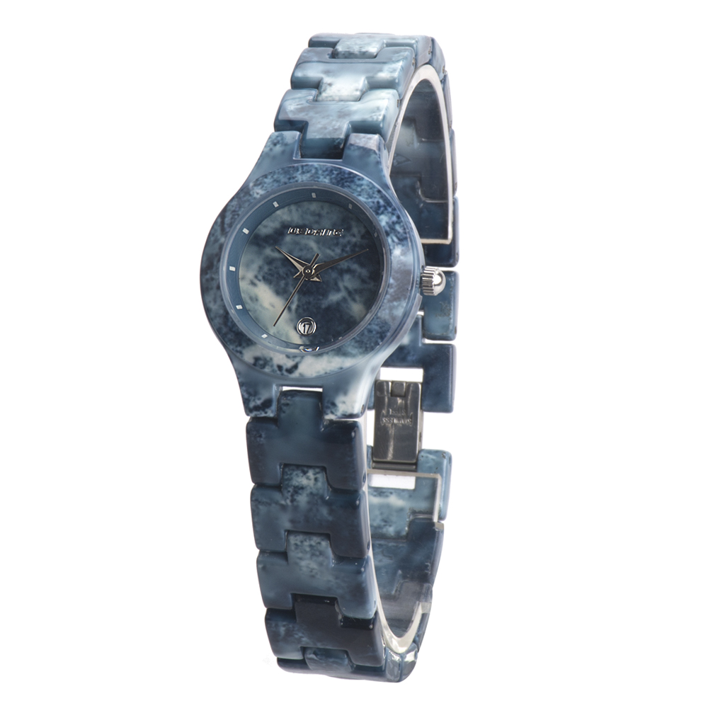 BEDATE Luxury Womens Full Marble Watches Elegant Female Quartz Wrist Watch Thin Strap Marble Dial Clock Lover's Gift  1057A luxury marble