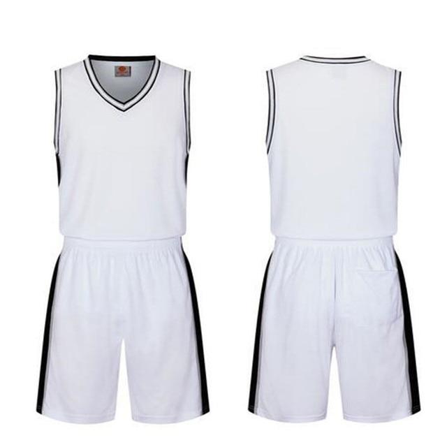 Blank black basketball jerseys