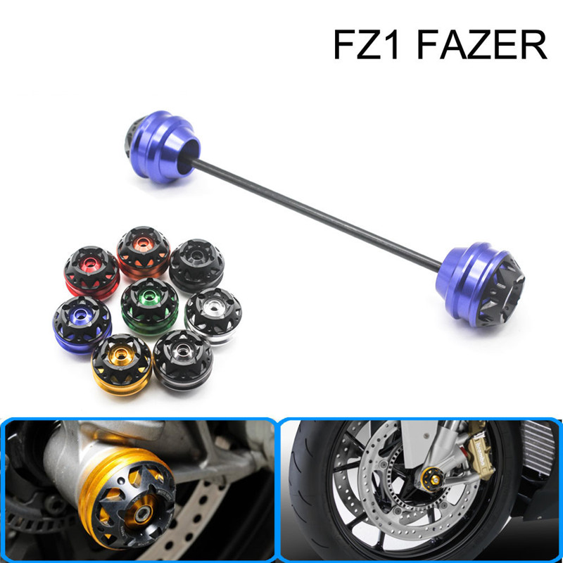 Free delivery for YAMAHA FZ1 FAZER 2006-2015 CNC Modified Motorcycle Front wheel drop ball / shock absorber aftermarket free shipping motorcycle parts eliminator tidy tail for 2006 2007 2008 fz6 fazer 2007 2008b lack