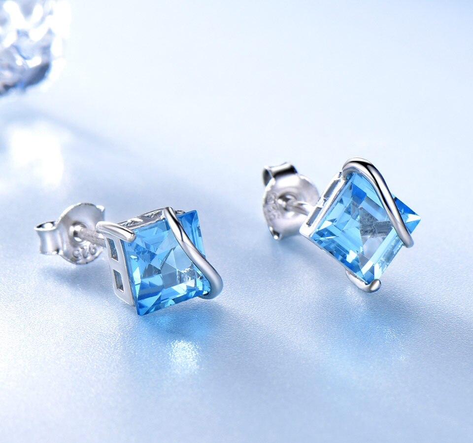 natural swiss blue topaz earrings for women (3)