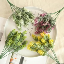 Artificial flowers Peony Wedding Decors Fake Plastic Silk Eucalyptus Plant Flowers Home Garden Decor