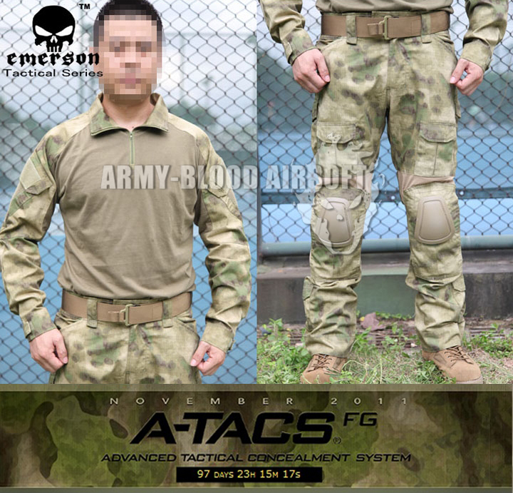 2-generation tactics for training frog suit (A-TACS FG AT) tacs ts1103c