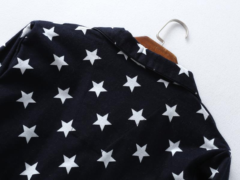 Fashion stars sale pyjamas for man 100% brushed cotton casual winter pajamas sets men sleepwear pijamas male pajamers for men 12