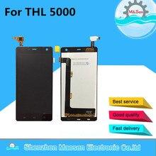 M & Sen Para THL 5000 pantalla LCD + Touch panel digitalizador Negro/blanco envío gratis