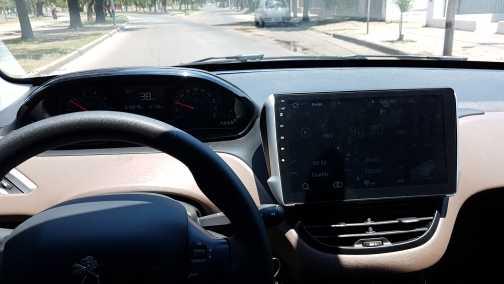 """用プジョー2008 208アンドロイド車2 dinラジオgpsナビ4コア9 """"wifi車のandroidのマルチメディア2dinカーdvdプレーヤー"""