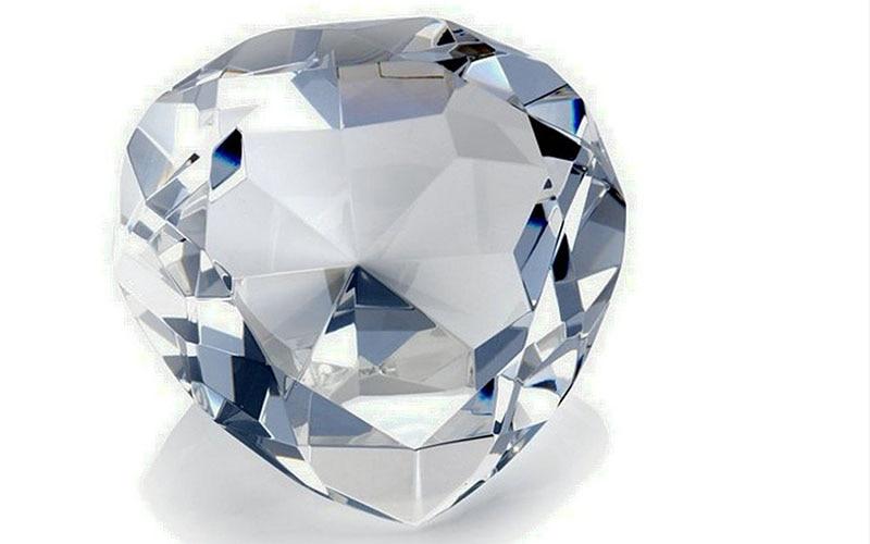 90mm formë zemre shumëngjyrëshe Diamanti i kristalit Diamanti i - Dekor në shtëpi - Foto 6