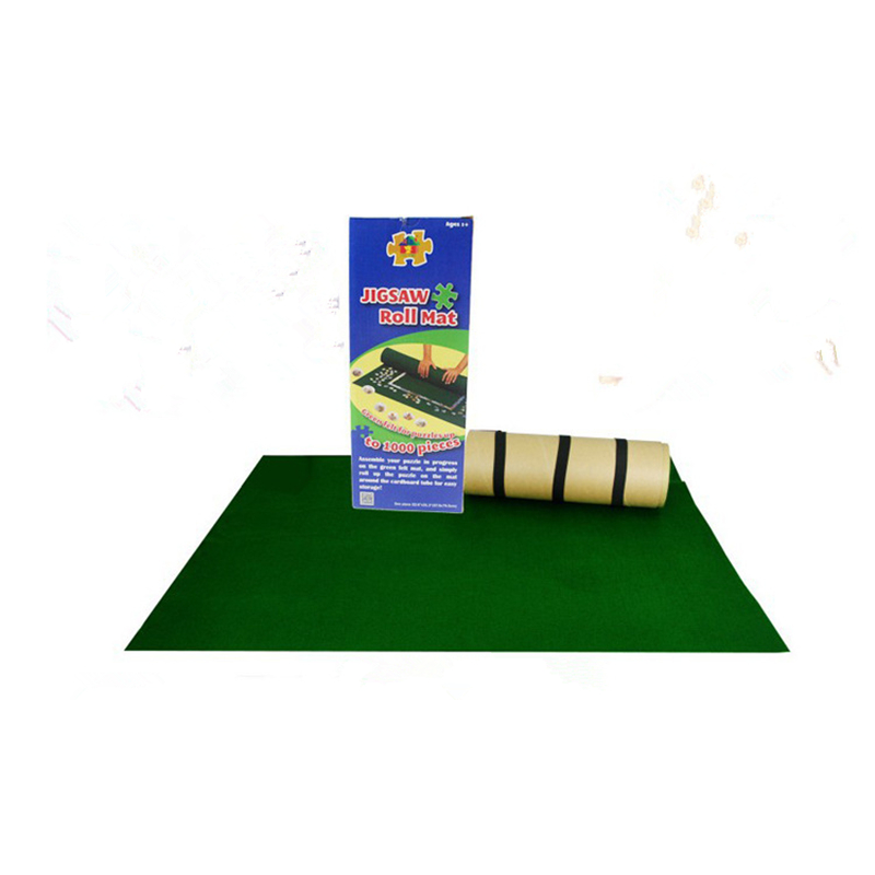 tapis puzzle en flanelle portable 56x82cm grand tapis pour puzzle rangement d accessoires pour l interieur et l exterieur 1000 pieces