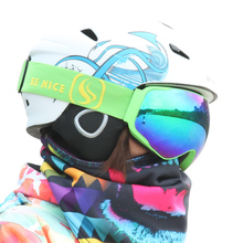 New coming Benice ski goggles double UV400 anti-fog big ski mask glasses skiing men& women snow snowboard goggles SKI-4200