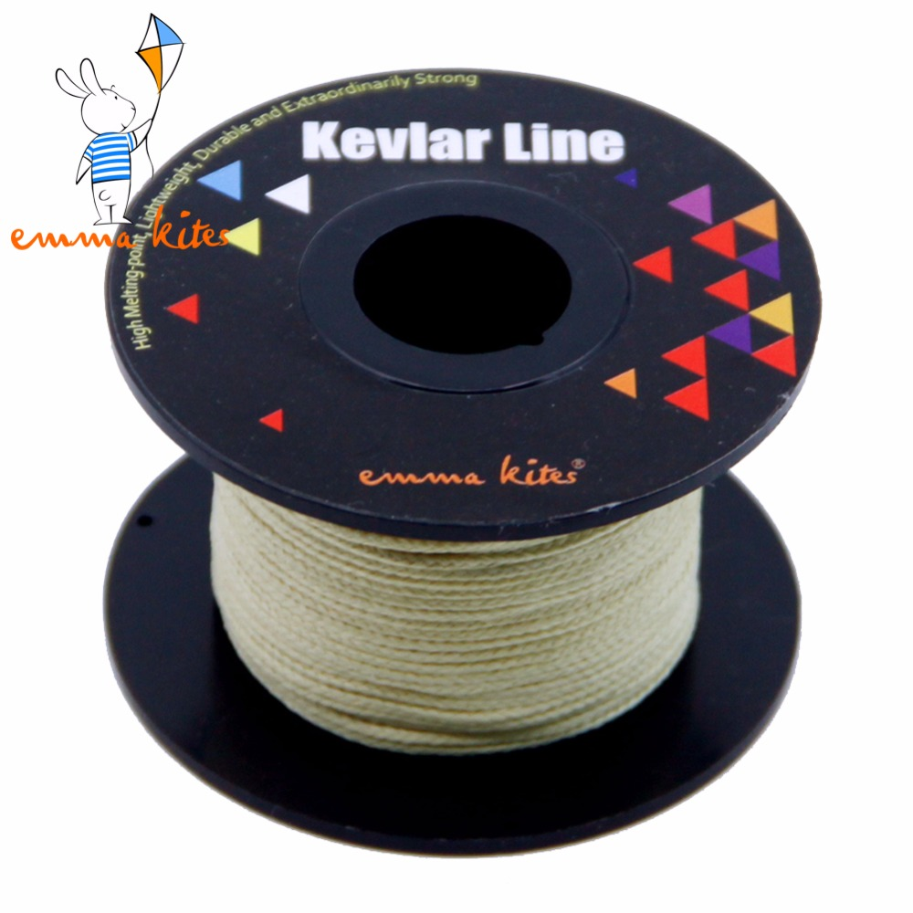 100ft 380lb Kevlar Braided Line Kite String For Single Line Delta Kite Flying Fishing Outdoor Camping Hunting Cord