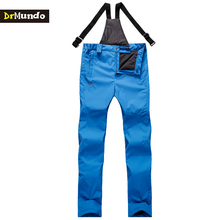 DrMundo Winter waterproof men Sling snowboarding pants thicken outdoor ski pants fleece snowboard trousers men skiing snow pants