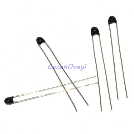 100pcs/lot MF52AT MF52 B 3950 <font><b>NTC</b></font> <font><b>Thermistor</b></font> Thermal Resistor 5% 1K 2K 3K 4.7K 5K <font><b>10K</b></font> 20K 47K 50K 100K In Stock image