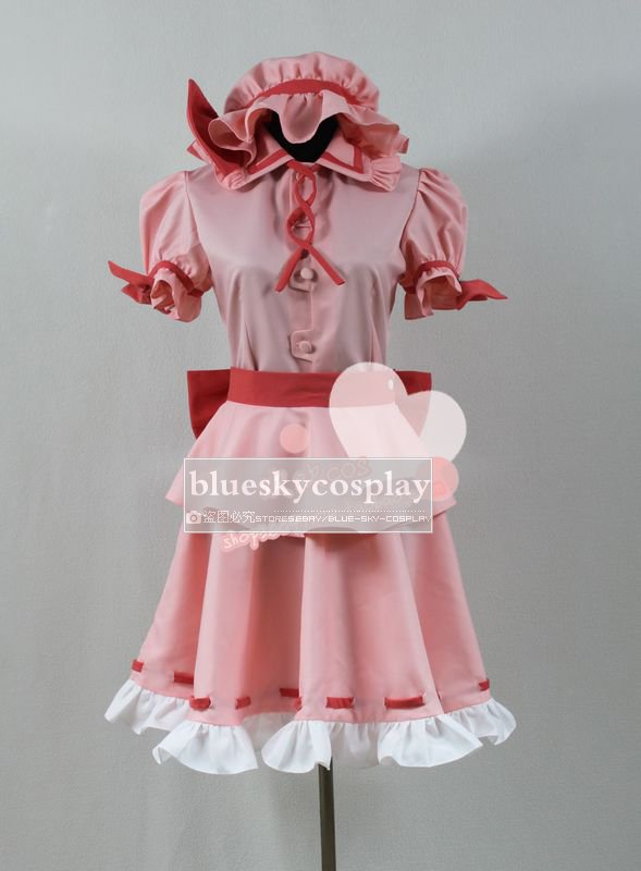 Touhou Project  The Embodiment of Scarlet Devil Remilia Cosplay Costume   custom any size  Halloween