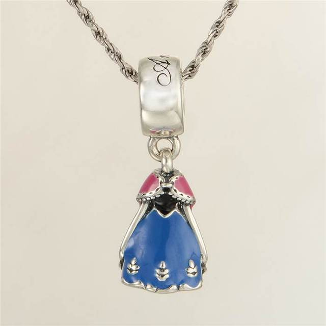 Authentic 925 sterling silver fairy pendant enamel princess charm authentic 925 sterling silver fairy pendant enamel princess charm pendants anna charms dance jewelry diy bracelets aloadofball Image collections