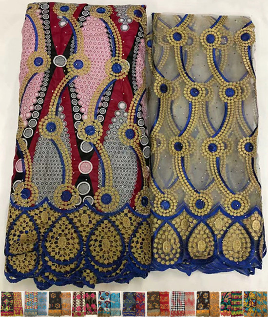 6 2yards african lace fabric guipure lace fabric african fabric for dress african french lace nigerian