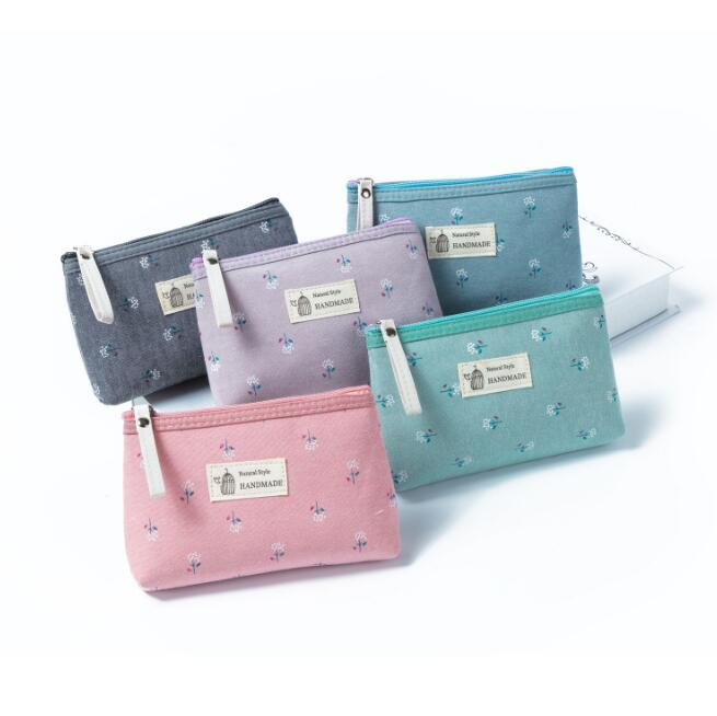 Fashion Women's Bag Travel Make Up Bag Female Cosmetic Bag for Cosmetics Canvas Makeup Case Pouch Toiletry Wash Organizer Pouch