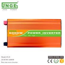 peak power 12kw 24v 48v 96v 6000w pure sine wave inverter high frequency solar power inverter 6kw off grid