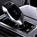 Estéreo de alta Qualidade Bluetooth Car Kit Handsfree Speaker Phone + o Cartão Do TF MP3 Player + FM Transmitter USB Car Isqueiro carregador