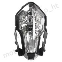 Gzyf frente da motocicleta farol cabeça luz da lâmpada farol para ktm 1190 rc8 2008 2009 2010 2011 2012 2013 claro lense