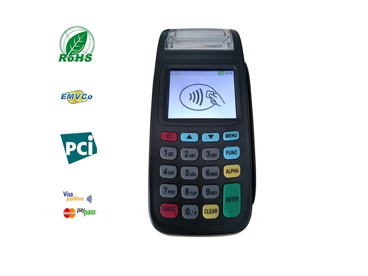 cor cinza preco barato portatil leitor mifare terminal pos 8210 com gprs new8210 3g para opcional