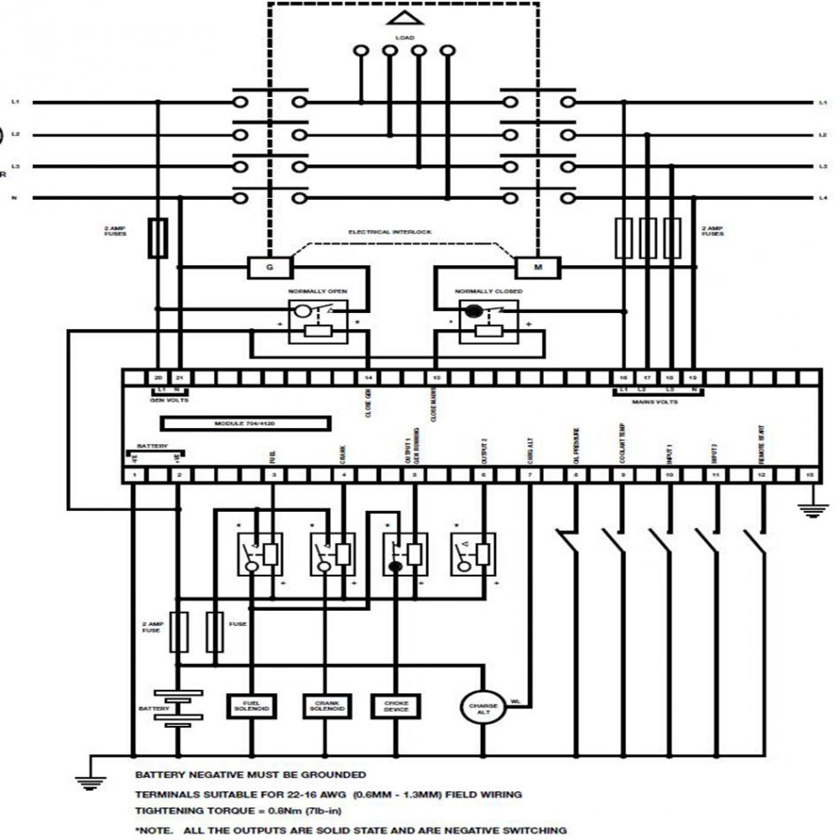 DSE704 Generator Controller Modul DSE704 Ersatz für Deep Sea ...
