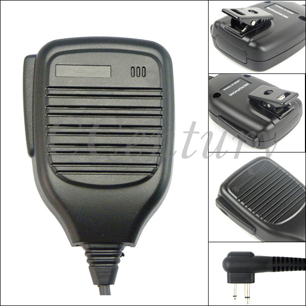 bilder für Professional Speaker Microphone Mic PTT for Portable Motorola Two Way Radio CP040 CP160 CP180 PRO1150 PR400 Walkie Talkie