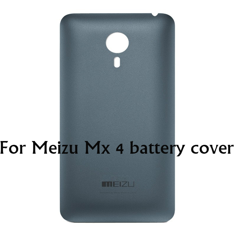 For Meizu MX4 Original Back Cover Housing Battery Replacement Plastic Door Case Cover For Meizu MX 4 battery cover