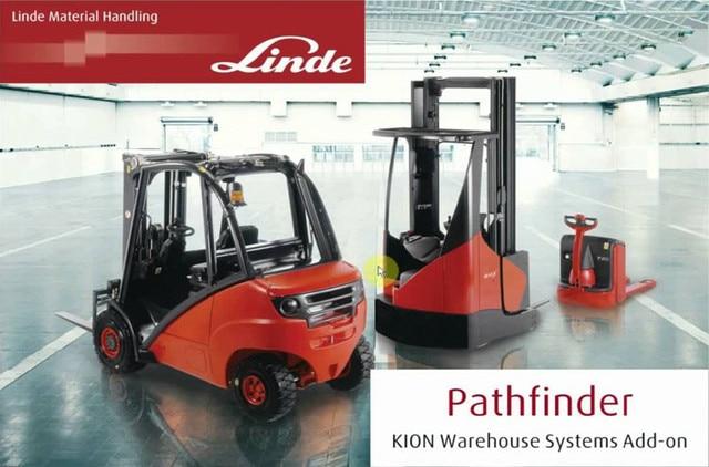 $  Linde forklift PathFinder Truck Diagnostic software