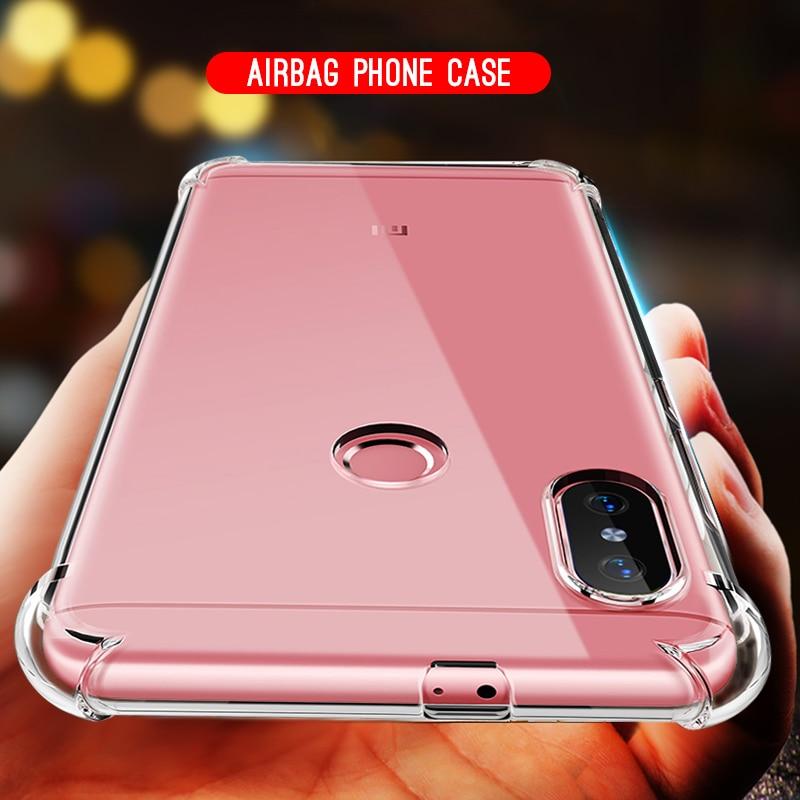 TPU Protective Case For Xiaomi Mi A2 Lite Mix3 Mix2s 5X 6X 6 Pocophone F1  Mi8 SE Phone Housing Redmi