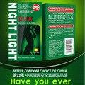 14 unids marca man calidad luz de la noche condon lubricante especial que brilla intensamente condones íntima contex juguete adulto del sexo del producto para hombre