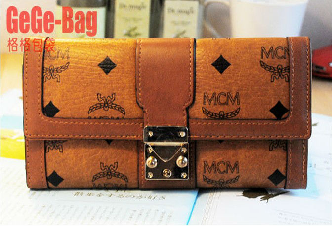 women leather wallet purse coin credit card holder bags brown - spring june's store