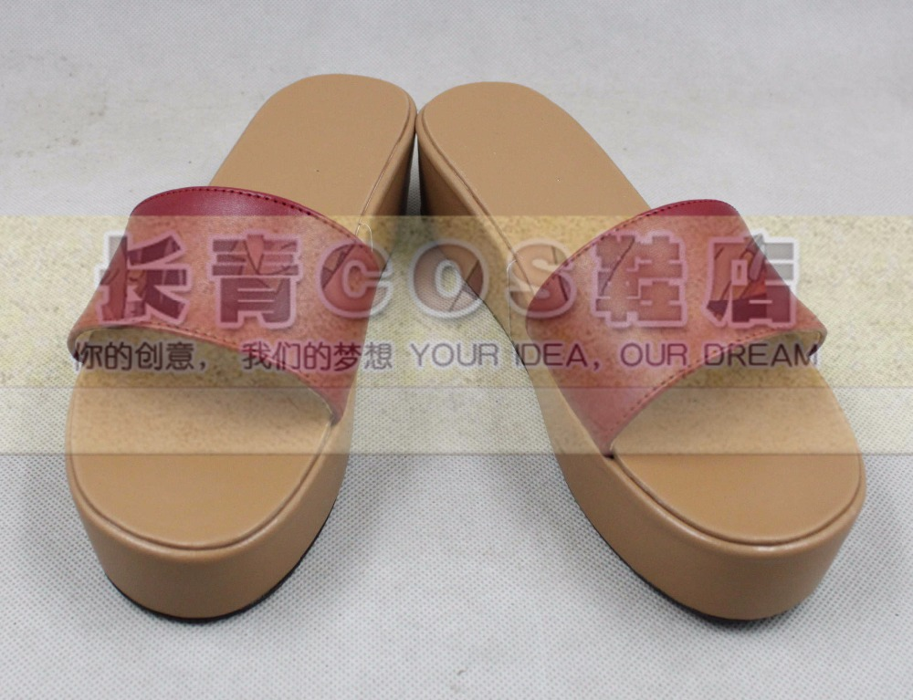 Shaman King Anna Kyoyama cosplay Shoes Boots Custom Made 0100