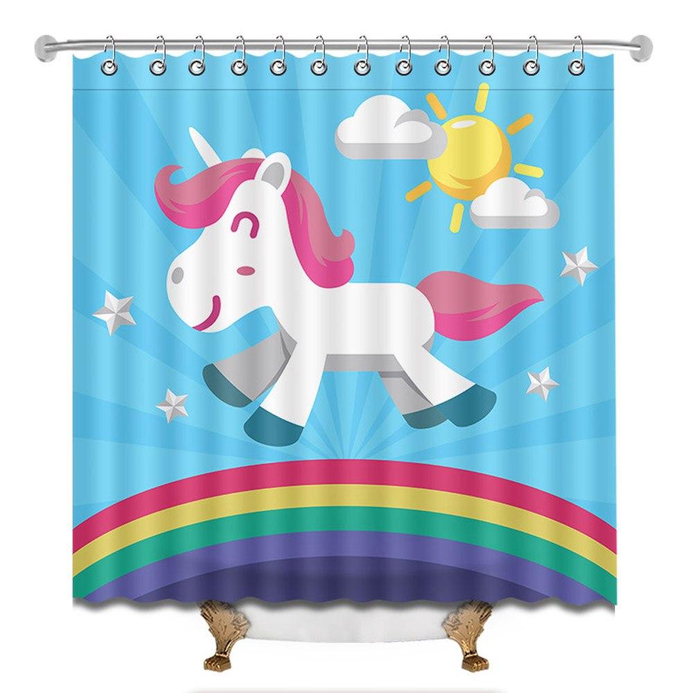 12 hooks garden curtains shower curtains