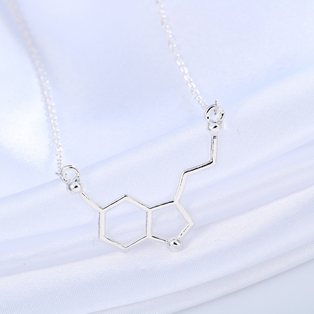 Infinity Molecule Chemistry Necklace