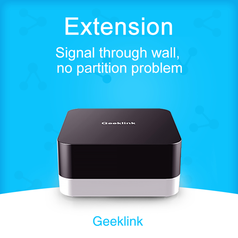 Geeklink GR-1 Relay Branch Compatible With YKB-3S , Thinker, RF Relay, RF To Infrared, Temperature And Humidity Induction
