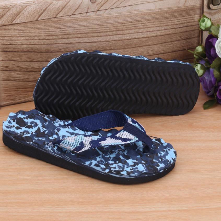 Sleeper #4001 Men Summer Camouflage Flip Flops Shoes Sandals Slipper Indoor & Outdoor Flip-flops New