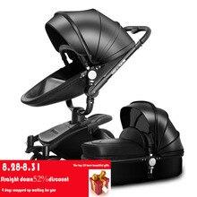 AULON оюн длинные Детские коляски two-way высокой профиль амортизатор для автомобиля может сесть корзину ребенка тележка