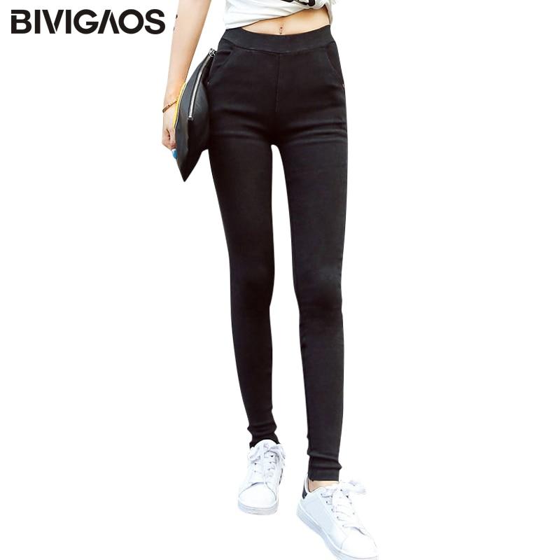 Nieuwe mode dames jeans legging zand wassen elastische denim potlood - Dameskleding