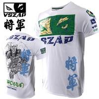 2019 Shogun T shirts Samurai Fitness MMA Men Short Sleeve T Shirt Casual Fighting Muay Thai Fightwear UFC Sanda Sporting